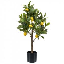 Citronträd, 72cm, konstgjord växt