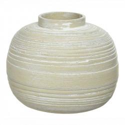 Vas av bambu, tål inte vatten, 20cm