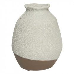 Handgjord vas m rå yta, 26cm