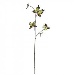 Fjärilar på gren, metalic, 5 st, Konstgjorda Djur