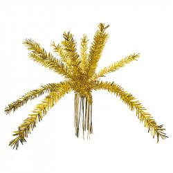 Palm- och fontänliknande girlang