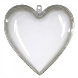 Hjärta i 2 delar, 14 cm