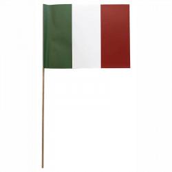 Flagga på träpinne, Italien