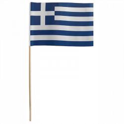 Flagga på träpinne, Grekland