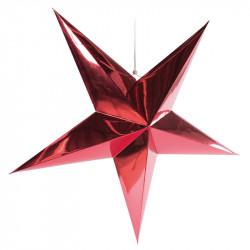 Hopvikbar stjärna, 5 uddar, Ø 90cm