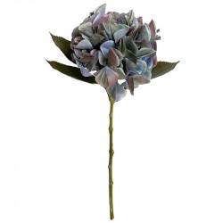 Hortensia, urtvättad blå, 47cm, konstgjord blomma