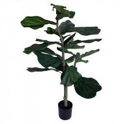 Fikonträd i kruka, 90 cm, konstgjord växt