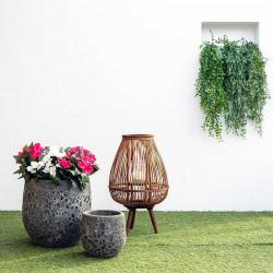 Häng-ormbunke UV-skyddad, 80 cm, konstgjord växt