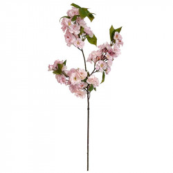Äppelgren, vita och ljusrosa blommor, 80 cm, konstgjord gren