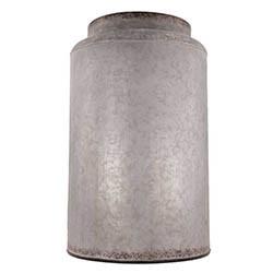 Zinkvas, cylinder 37cm