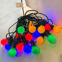 LED-Ljusslinga med 20 lampor, 8 ljusfunktioner