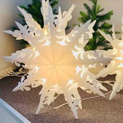 Snöflinga: Ursalight 109 till lampa med 3 m ledningD: 46 cm D: 46 cm