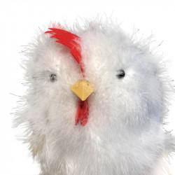 Påskkyckling i vit, 30 cm