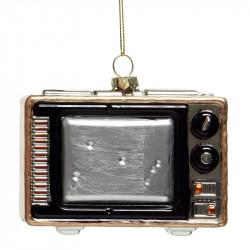 Juletræspynt, fjernsyn m ophæng
