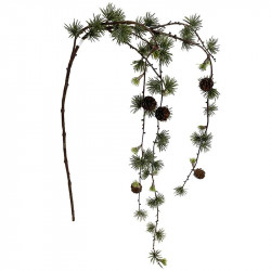 Lärkträds hänger, 125 cm, konstgjord gran