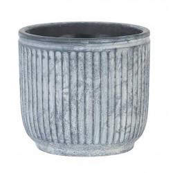 Kruka i cement, Ø17cm