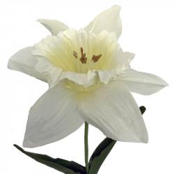 Påsklilja i vitt, 59 cm, konstgjord blomma