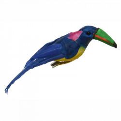 Tukan av polystyren, konstgjord fågel