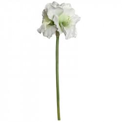 Amaryllis, hvid, 99cm, kunstig blomst