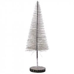 Julgran med glitter, 35 cm, konstgjort träd