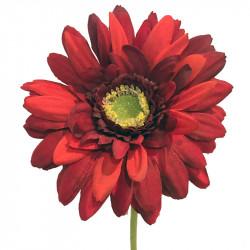 Gerbera på stjälk 48 cm Röd, Konstgjord blomma