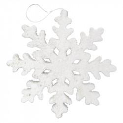 Snöflinga med 8 spetsar, 25cm