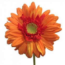 Gerbera på stjälk 48 cm Orange