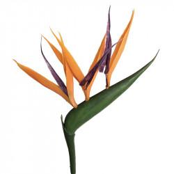 Papegojblomma/Paradisfågelblomma, 65 cm, konstgjord blomma