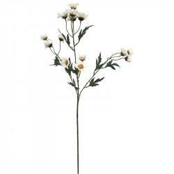 Prästkragegren, 65 cm, konstgjord blomma