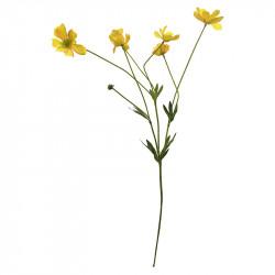 Rosenskära-kvist, 69 cm Gul, Konstgjord blomma
