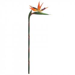 Papegojblomma/Paradisfågelblomma, konstgjord blomma