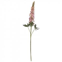 Lupin, rosa, 105 cm, konstgjord blomma