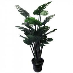Monsteraväxt i kruka, 120 cm, Konstgjord växt