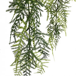 Hängande Fjädersparris i kruka 80 cm, konstgjord växt