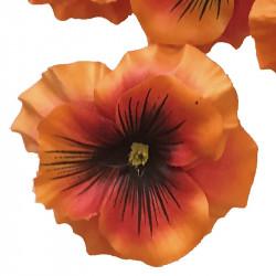 Penséhuvuden i 12-pack, konstgjord blomma