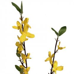 Forsythia-gren, 55 cm, konstgjord gren