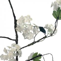 Snöbolls-blomstergren, 108 cm, konstgjord växt