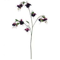 Fuchsia-kvist, lila, konstgjord blomma