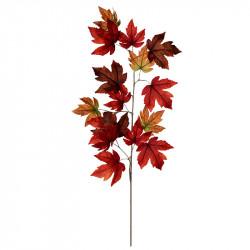 Lönngren, 110 cm bordeaux, konstgjord gren