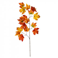 Lönngren, 110 cm orange, konstgjord gren