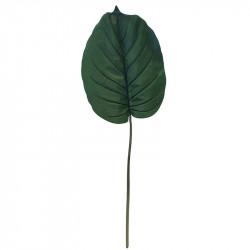 Palmblad (Alocasia), konstgjord gren