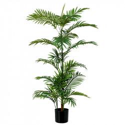 Phoenix Palm i svart kruka, 120 cm, konstgjord växt