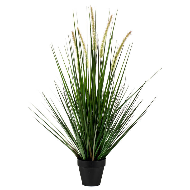 Kavlen-gräs i kruka, 53 cm, konstgräs