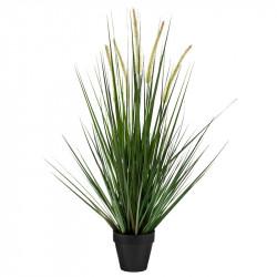 Kavlen-gräs i kruka, 90 cm, konstgräs