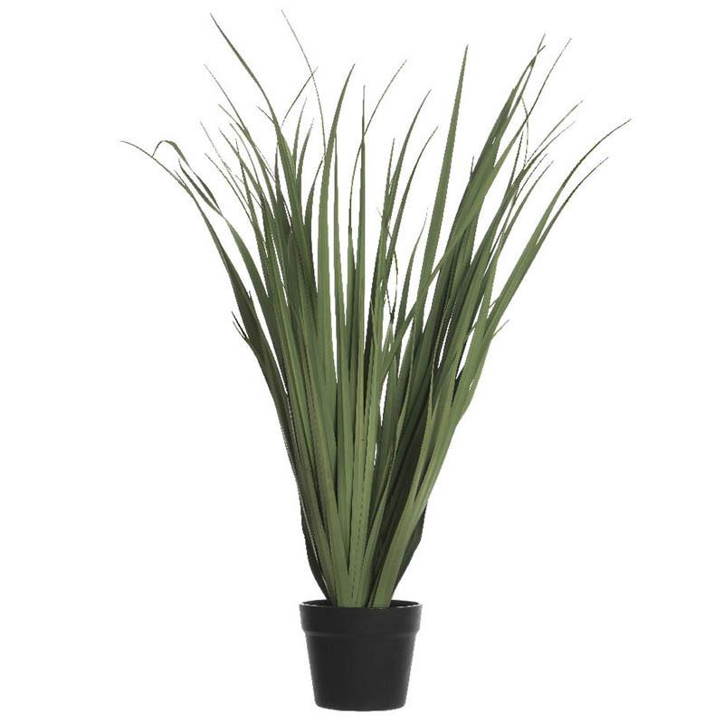Gräs i kruka, konstgräs