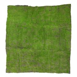 Mossplatta ca. 1 x 1 m, konstgjord mossa
