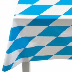 Plastduk med Bayern-rutor