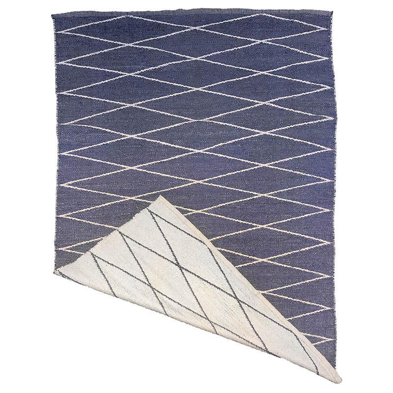 Utomhusmatta, diamantmönster-tryck, PVC, 180x120 cm
