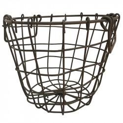Trådkorg i metall H: 15 cm