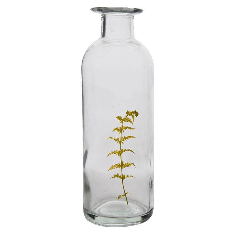 Flaska 26,5 cm med luftigt ormbunksblad